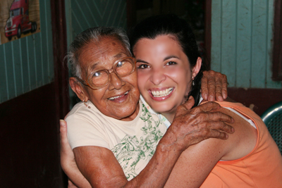 Mrs Brigida Matarrita & Lorena Gamboa