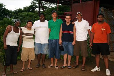 primer grupo de estudiantes